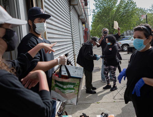 Bronx Brigade Partners with Mothers on the Move for South Bronx Food Distribution